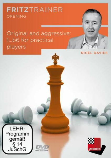 Schach DVD Original and aggressive: 1...b6 for practical players