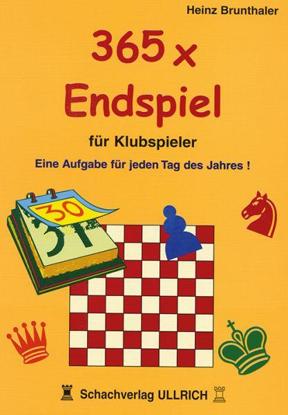 Schachbuch 365 x Endspiel für Klubspieler