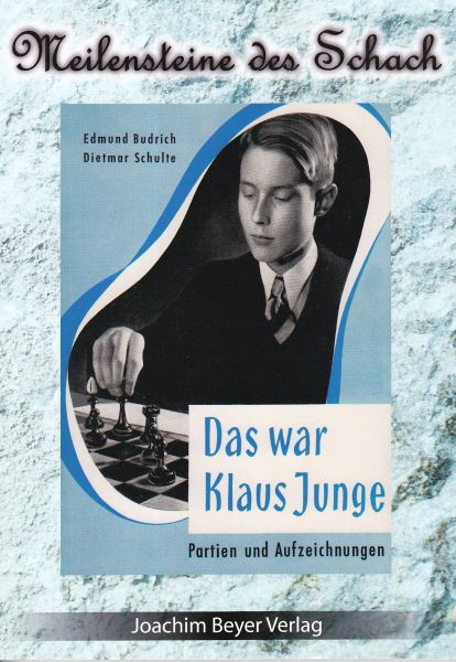 Schachbuch Das war Klaus Junge