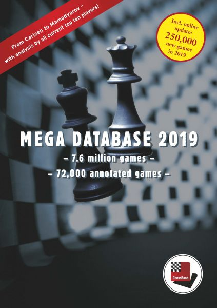 Schach DVD Update Mega Database 2019 von älteren Datenbanken