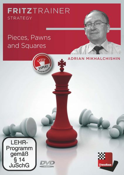 Schach DVD Pieces, Pawns and Squares