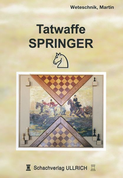 Schachbuch Tatwaffe Springer