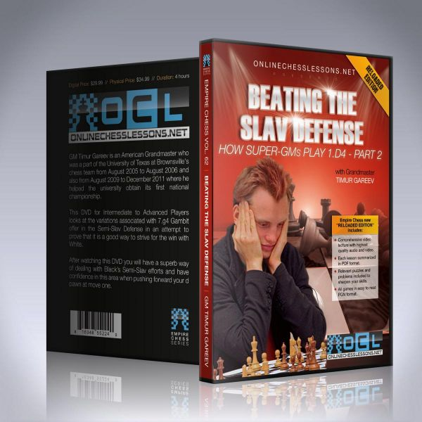 Schach DVD Beating the Slav Defense with the 7. g4!?