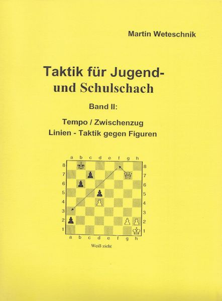 Schachbroschüre Taktik für Jugend- und Schulschach Band II