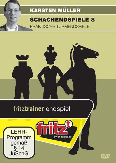 Schach DVD Schachendspiele 8 - Praktische Turmendspiele