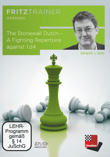 Schach DVD The Dutch Stonewall - A fighting repertoire against 1.d4