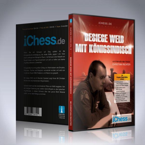 Schach DVD Besiege Weiß mit Königsindisch