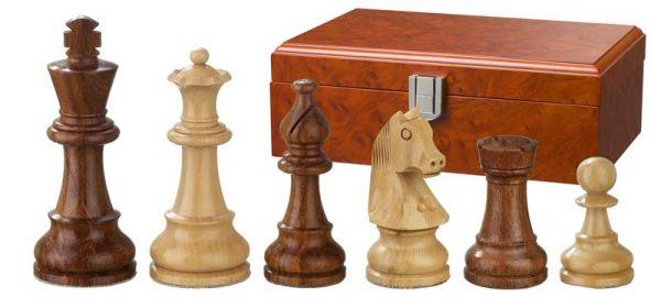 Schachfiguren Sigismund, Königshöhe 95 mm
