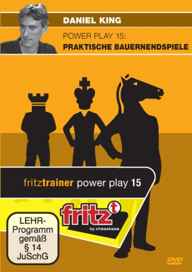Schach DVD Power Play 15: Praktische Bauernendspiele