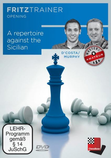 Schach DVD A repertoire against the Sicilian