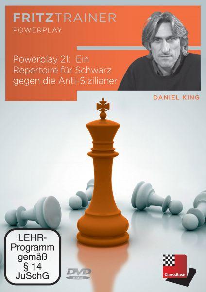 Schach DVD Power Play 21: Ein Repertoire für Schwarz gegen die Anti-Sizilianer