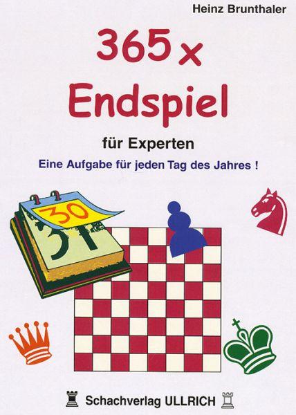 Schachbuch 365 x Endspiel für Experten